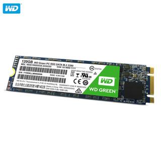 WD 西部数据 WDS120G1G0B Green系列 NGFF 120G M.2固态硬盘 120G