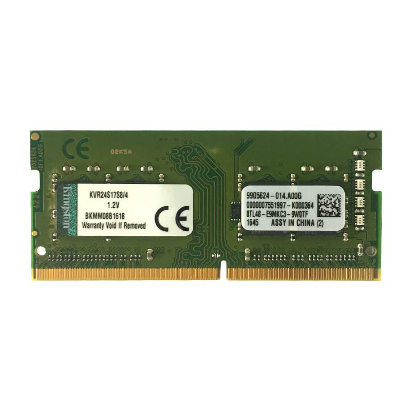 Kingston 金士顿 KVR24S17S8/4 ValueRAM DDR4 2400 笔记本内存 4GB