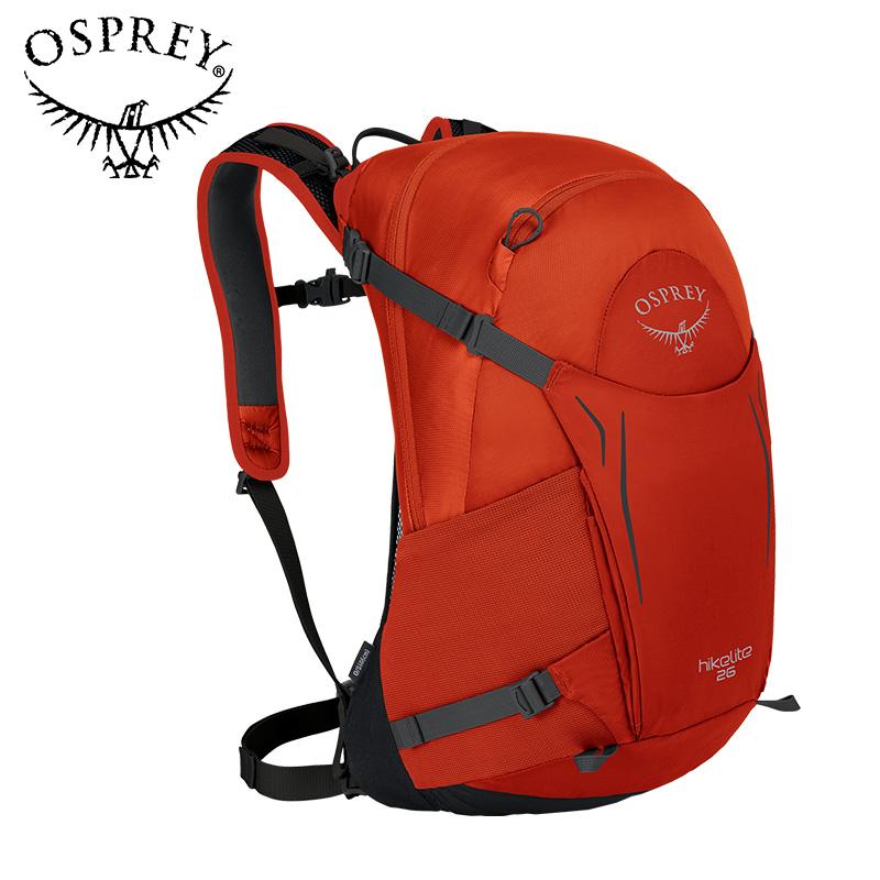 OSPREY 小鹰 1001555 Hikelite 户外徒步旅行运动包 黑色 26L