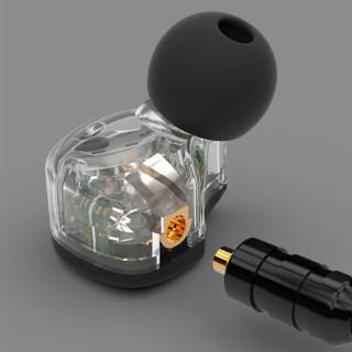 BGVP DS1 入耳式耳机 黑色无麦版