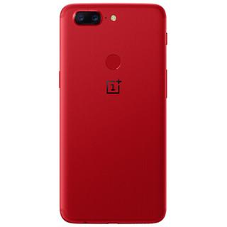 OnePlus 一加 一加手机5T 智能手机 6GB+64GB 熔岩红