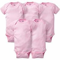 Gerber 婴儿纯棉包臀衫 5件装