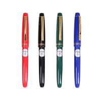 PILOT 百乐 78G+ 钢笔 (黑色、M尖、套装)