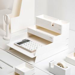 NUSIGN 纽赛 NS001 桌面文件托盘6件套 净白+凑单品