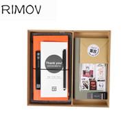 RIMOWA 集客记事本 文具套装定制 橙色封套