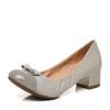 Belle/百丽专柜同款羊皮革女蝴蝶结简约休闲单鞋3B6Y8CQ7 305元