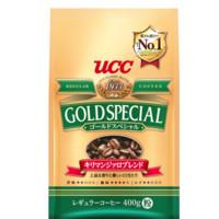 UCC 悠诗诗 黄金特选系列 乞力马扎罗山研磨咖啡粉 400g
