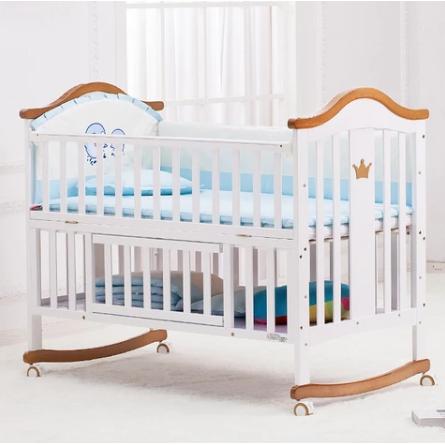 HOPE 呵宝 婴儿多功能欧式婴儿床 (欧式床+蚊帐+床垫+五件套 )