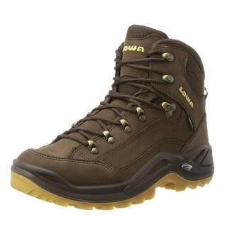中亚Prime会员、限UK8码 : LOWA Renegade GTX Mid 男款户外徒步鞋