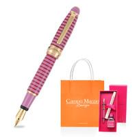 Campo Marzio 凯博 迷你条纹钢笔 0.5mm 墨水礼盒套装 多色可选