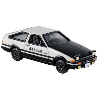 TOMY 多美卡仿真丰田AE86车模型合金车头文字D同款赛车486466