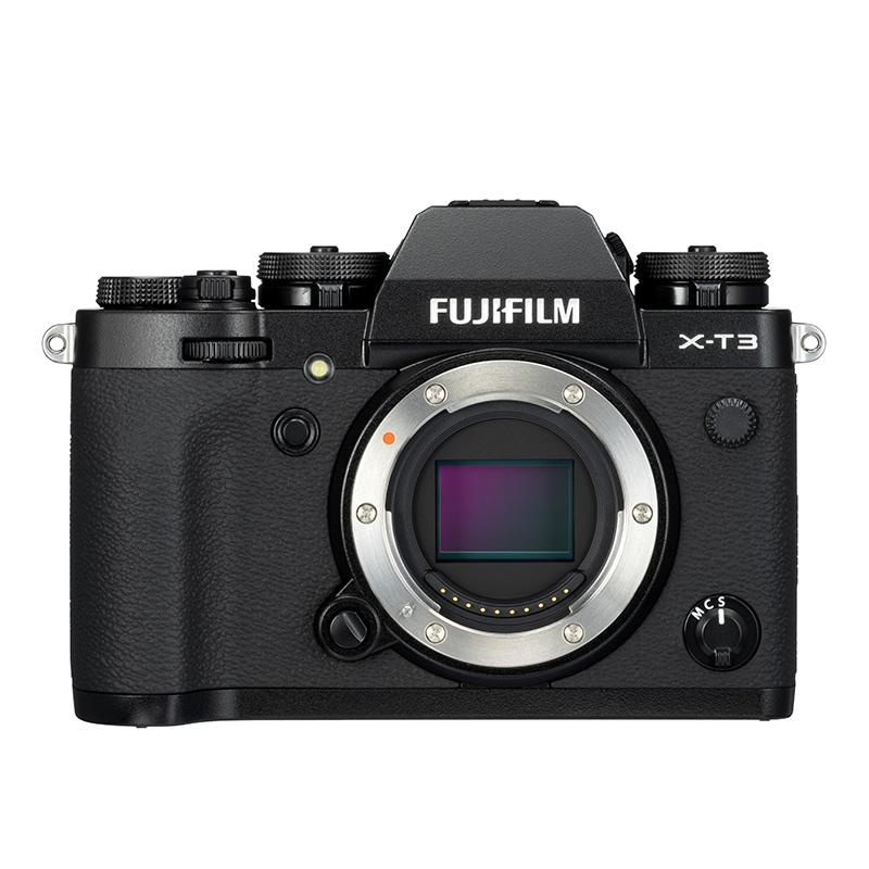FUJIFILM 富士 X-T3 APS-C画幅 微单相机 黑色 单机身