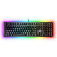 Dareu 达尔优 EK925 RGB暗夜流光 机械游戏键盘 黑色黑轴