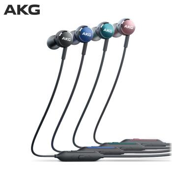 AKG 爱科技 Y100 蓝牙无线耳机 松石绿