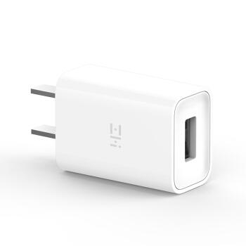 ZMI(紫米)10W 快充 5V/2A 充电器/充电头/适配器 AP611 适用于苹果安卓手机平板 白色