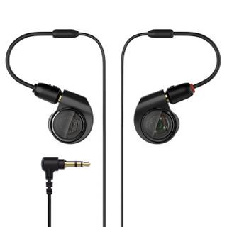 audio-technica 铁三角  ATH-E40 双动圈入耳式耳机