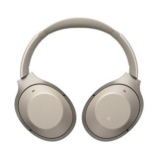 SONY 索尼 WH-1000XM3 XM2无线降噪蓝牙立体声耳机 暗夜黑