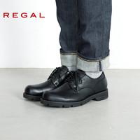 REGAL 丽格 男士GORE-TEX防水系带皮鞋
