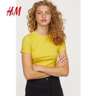 H&M HM0624486 女装罗纹上衣