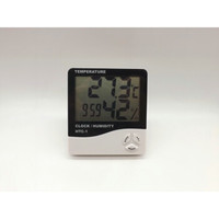 MIKI HOUSE 华盛电子数字干湿温度计 (经典款黑色)