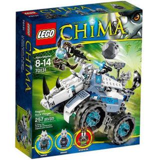 LEGO 乐高 气功传奇系列 70131 大力犀的悍犀抛石机