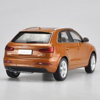 盛马 一汽大众 奥迪 Q3 AUDI Q3 SUV  合金汽车模型 1:18 萨摩亚橙