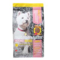 nutram 纽顿 S7 低敏系列 S7鸡肉糙米小型犬成犬粮 6kg