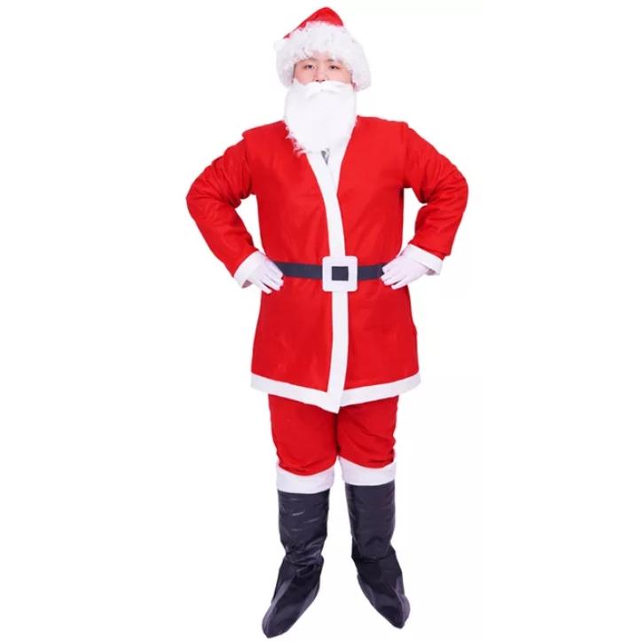 采纳福 圣诞老人服 5件套