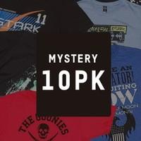 Mystery Geek 游戏、电影等多主题 男士T恤 10件装 福袋