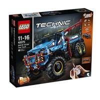 值友专享:LEGO 乐高 2017科技系列 42070 6X6全时驱动牵引卡车