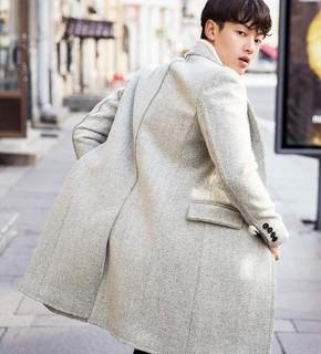 GXG 64826027 男士毛呢大衣