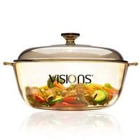 VISIONS 康宁 VS-4L-HD 晶彩透明汤锅 4L