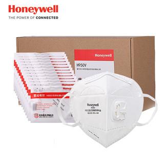 Honeywell 霍尼韦尔 H950V  KN95  头带耳带带呼吸阀口罩 25只 *3件