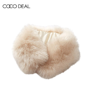 COCO DEAL 36654245 女士毛领围脖
