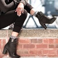 Timberland 添柏岚 GLANCY 6 女款高跟工装靴
