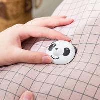 米选  Q萌熊猫被子固定器   熊猫4个(自带解扣+4长钉+4短钉)