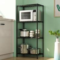 HOME BI 家世比 多功能厨房整理架 118cm四层-黑色