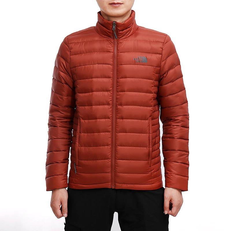 THE NORTH FACE 北面 35E8 男款户外保暖羽绒服 M码 红色