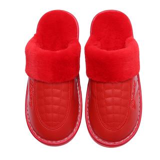 春笑 保暖包跟棉鞋 250mm 粉色