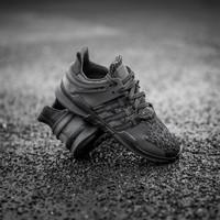 adidas 阿迪达斯 三叶草 男鞋 EQT SUPPORT ADV 黑色经典休闲跑鞋  CP8928/B *2件