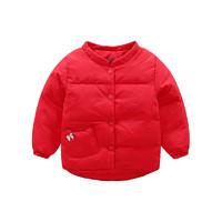 barpupapa 婴幼儿羽绒服 红色 90cm
