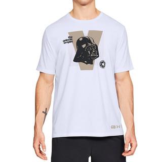 UNDER ARMOUR 安德玛 1324169 男子黑武士短袖运动训练T恤
