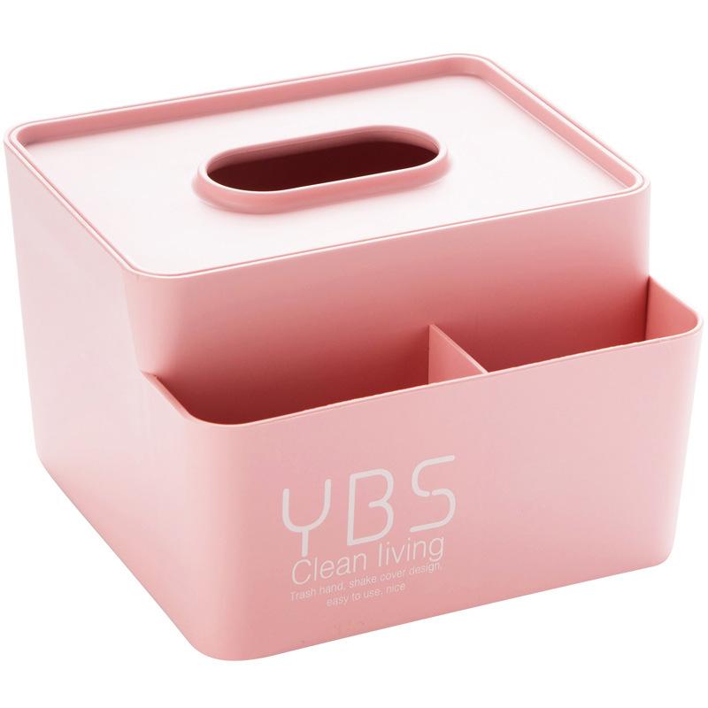 力彩 字母桌面遥控器收纳盒 粉红色