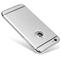 新视界 苹果iphone6/6s plus手机壳(银色) 超薄防摔