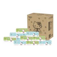 妮飘(nepia)抽纸  卡通系列凯蒂 2层 150抽软抽*18包纸巾 整箱销售 *2件