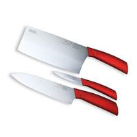 VISIONS 康宁 摩登波尔多红系列 CC-MBS3PCS/CN 刀具3件组