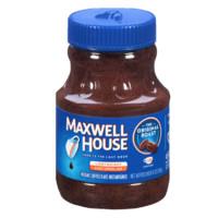 Maxwell House 麦斯威尔 100%纯黑速溶黑咖啡 227g