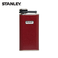 STANLEY 史丹利 经典系列 236Ml 不锈钢便携酒壶 236ml 红色