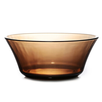 DURALEX 多莱斯 玻璃碗 咖啡色 2200ML