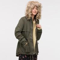 H&M DIVIDED HM0650122 女士派克大衣